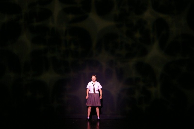 Alone on Stage