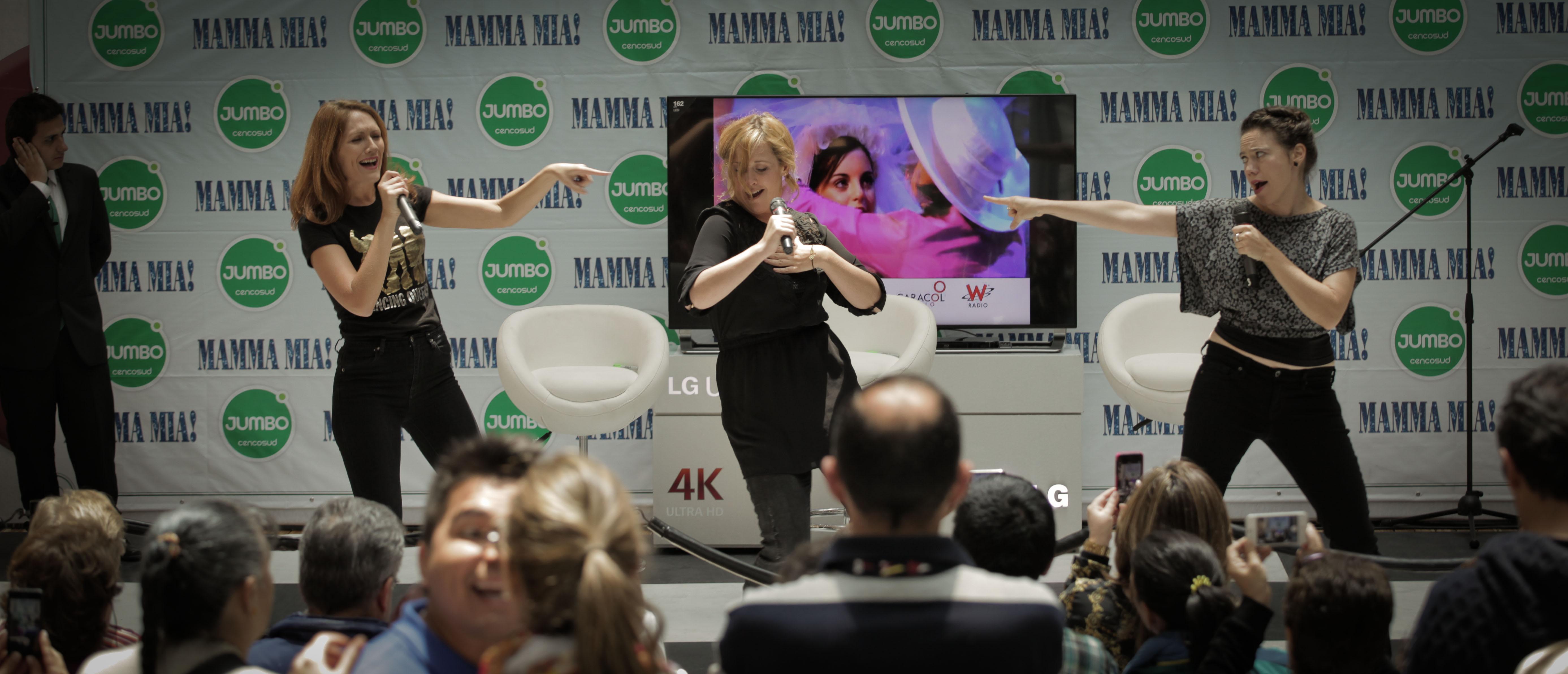 Promo for Mamma Mia, Bogota