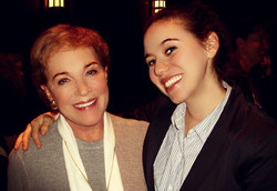 Working with Julie Andrews