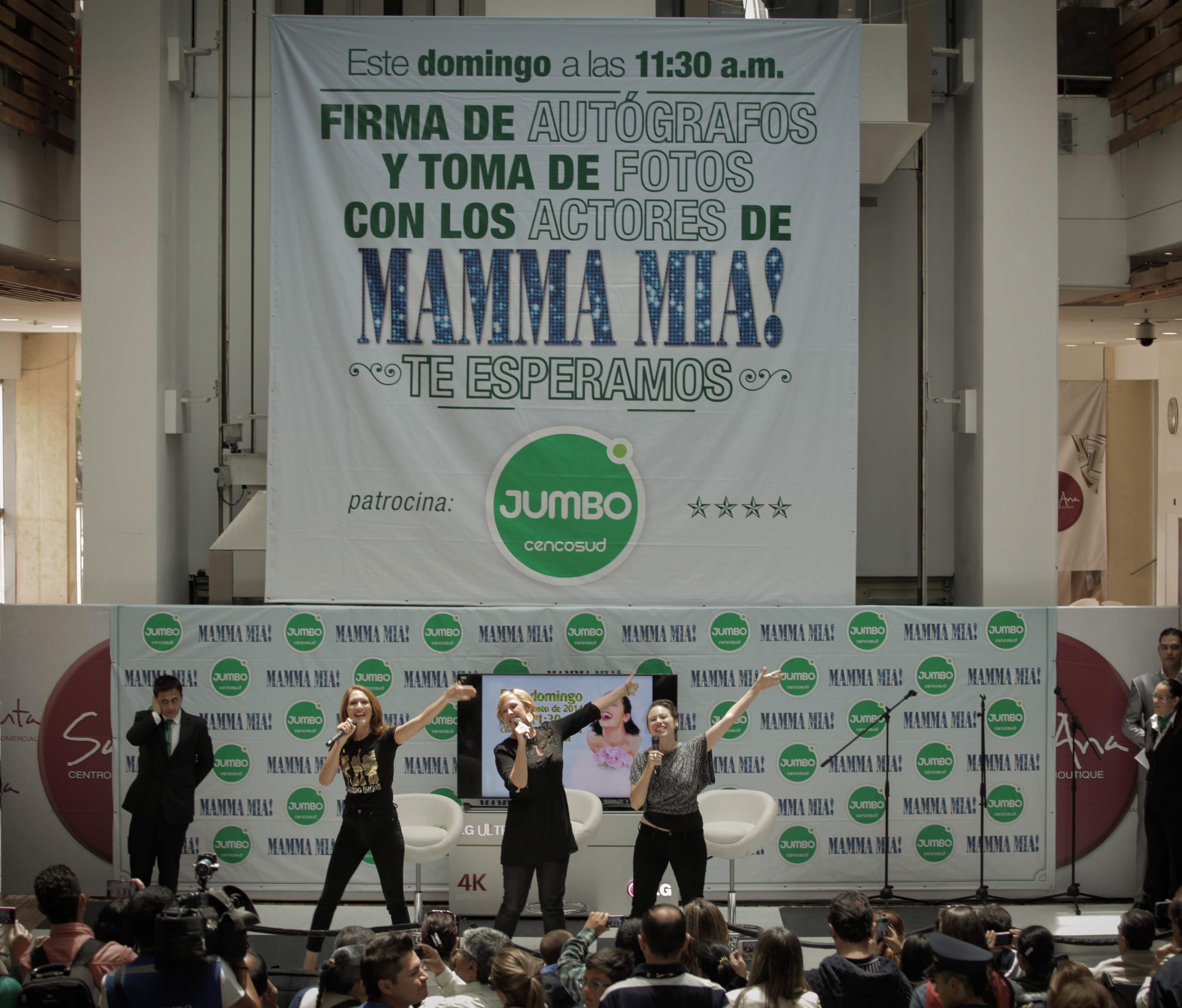 Promo for Mamma Mia
