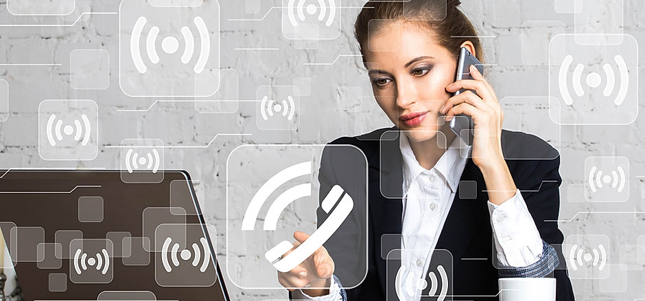 Social network Wifi business button web