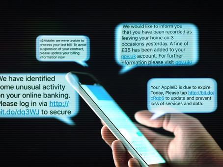 How To Report a Spam or Smishing Text Message!