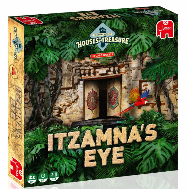 Jonathan Eaton Houses of Treasures: Itzamna's Eye