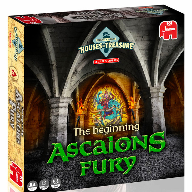 Jonathan Eaton Houses of Treasures: Ascalons Fury