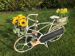 shabby chic bike