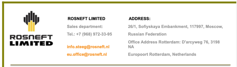 Rosneft Limited