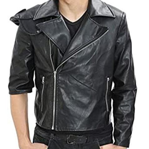 Leather Bikers Jacket (pictured is vinyl)