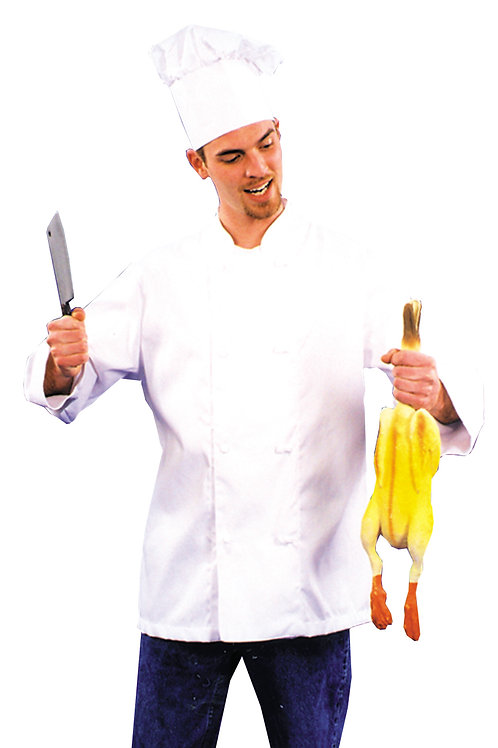 Chef Jacket and Hat - Rental