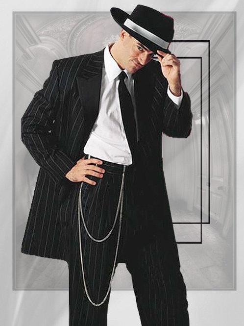 Black Pinstripe Zoot Suit