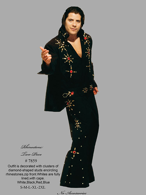 Elvis 3 pc. Studded Jumpsuit