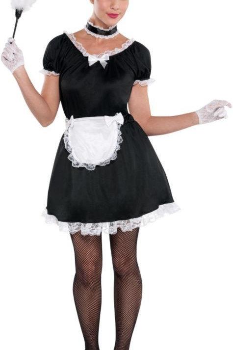 Maid Black and White Uniform - Rental