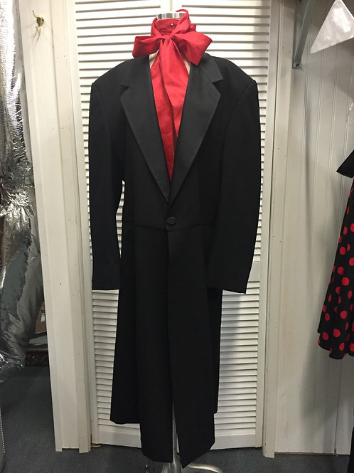 Frock Coat - Victorian - Dickens -Edwardian-Western - Rental