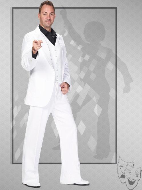 Travolta - Gatsby - Disco White Suit -Rental