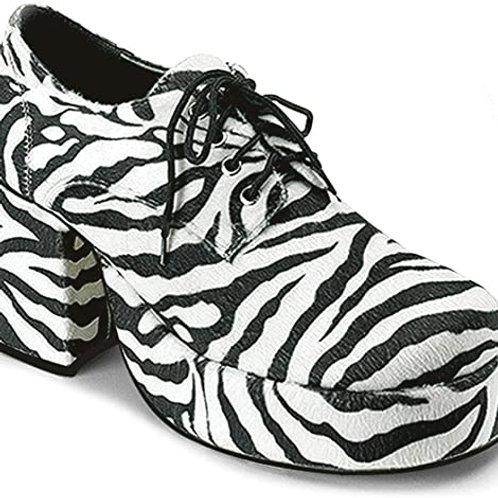 Zebra Platform Shoes - Special Order