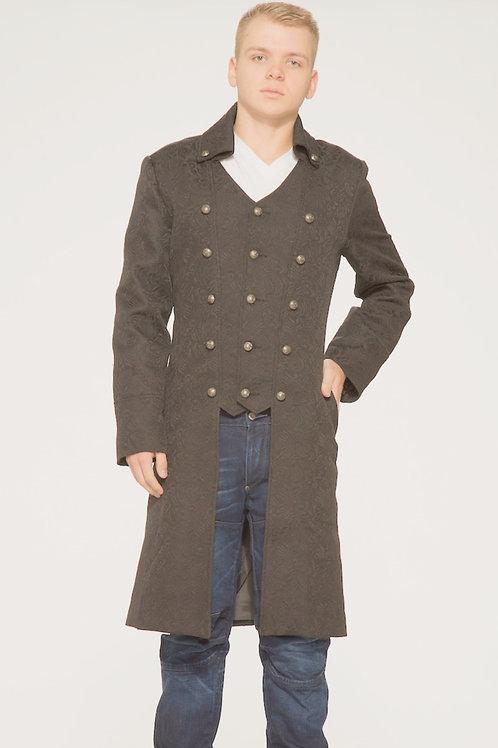 """Garrick"" Gothic-Pirate Coat"