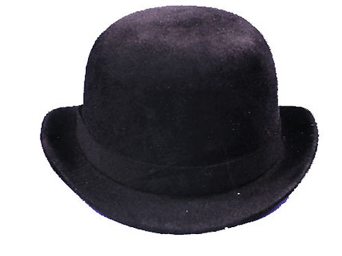 Derby Hat Black Felt