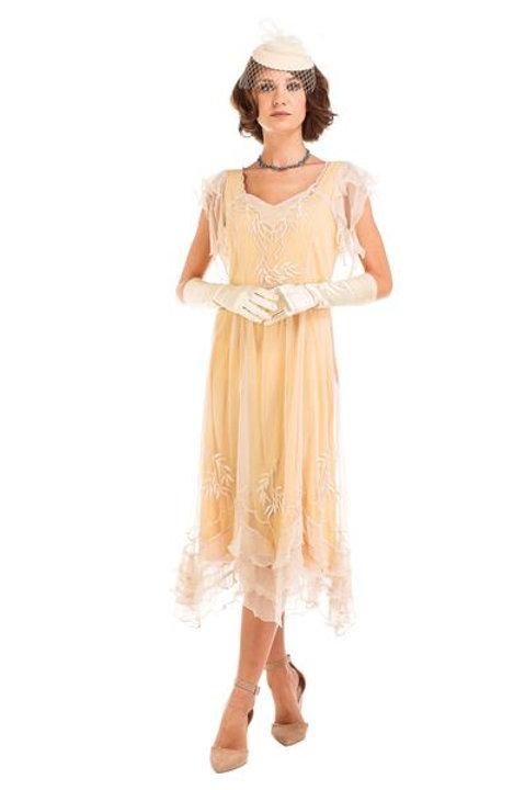 Titanic- Edwardian- 20's Tea Dress- Nataya