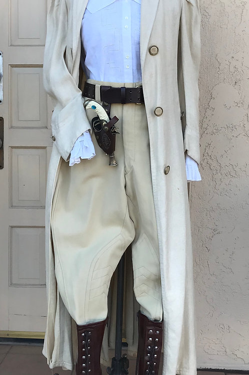 1900-1940s Jodhpurs and Duster Coat