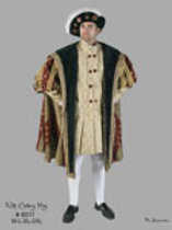 Henry VIII- Tunic and Coat