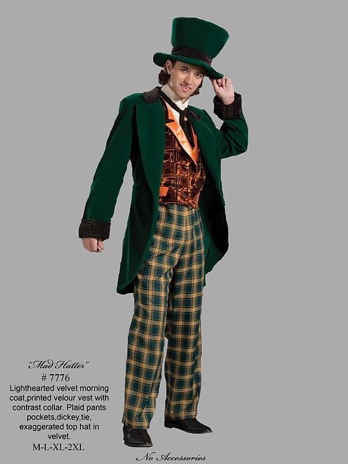 Mad Hatter -  Candy Man -Green Velvet - Tabi