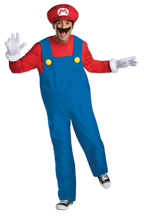 Mario Bros.  Coveralls w/ Shirt and Hat