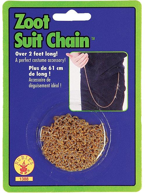 Zoot Suit Chain Gold