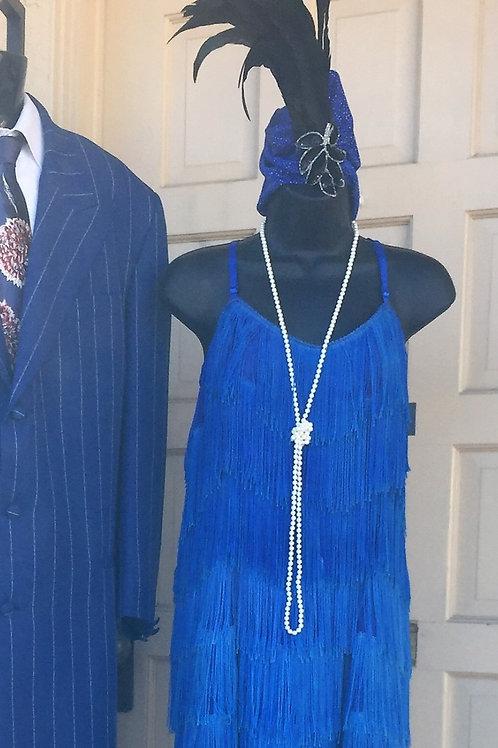 1920s Flapper - Blue