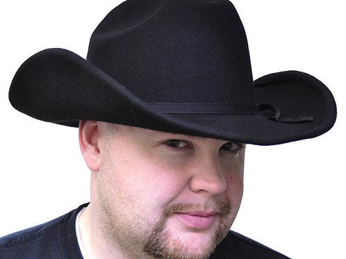 Cowboy Hat Black Felt