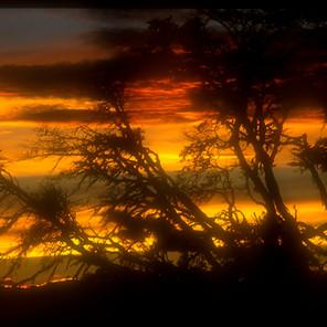 Sunset in Tierra del Fuego