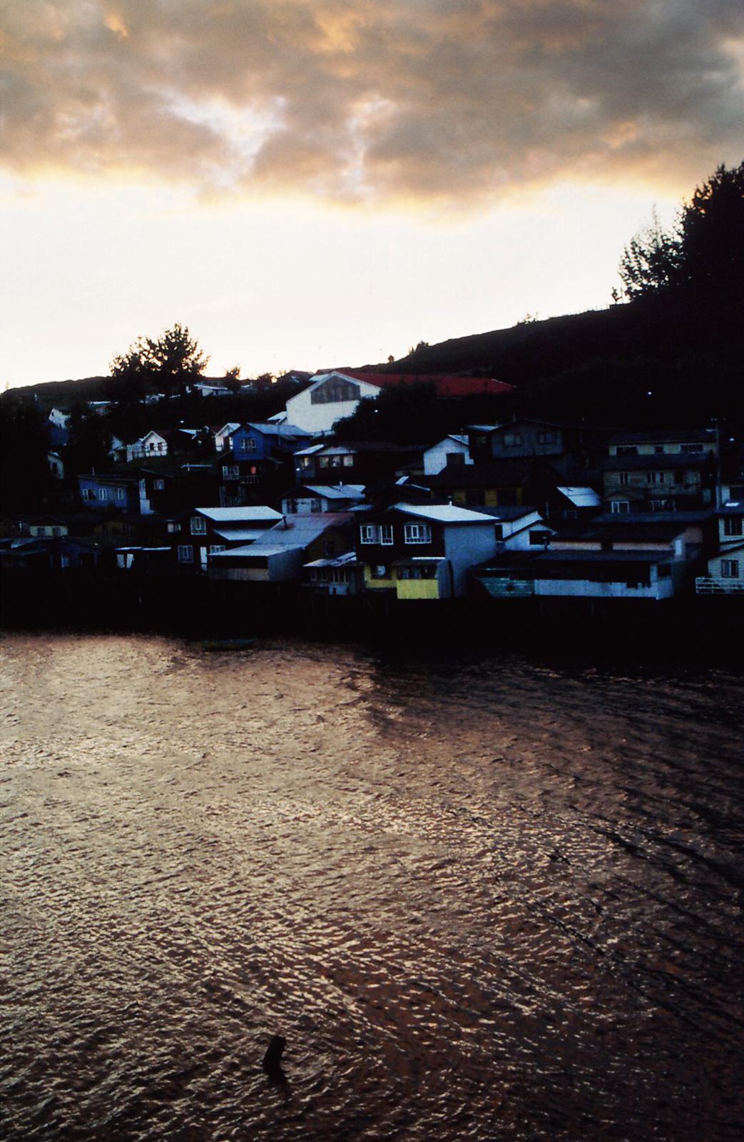 Palafitos en Castro, Chiloe Island, South Chile