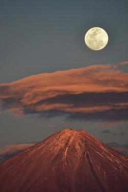 Volcán Licancabur - Portrait