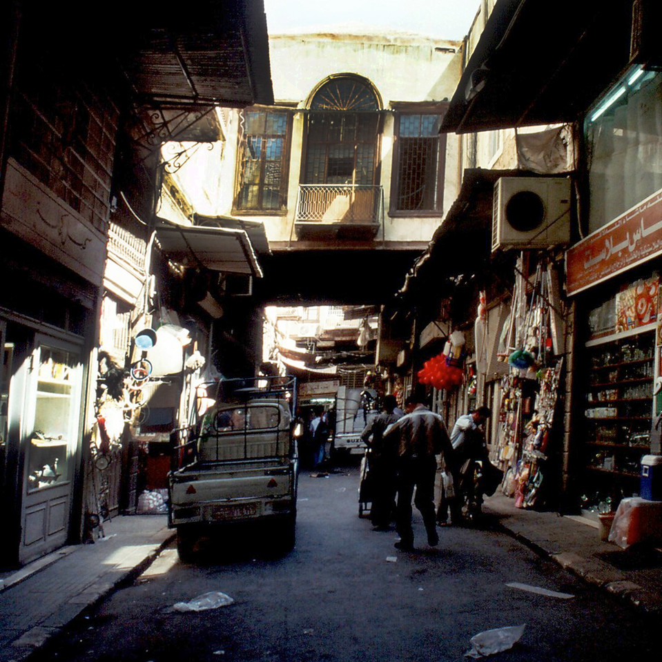 A street in the Old Damascus