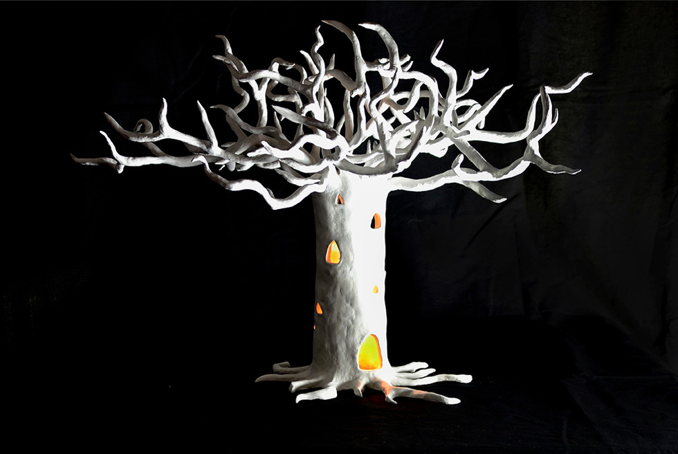 "1st Treepalace of ""Treepalace of Peace and Energy"" installation."
