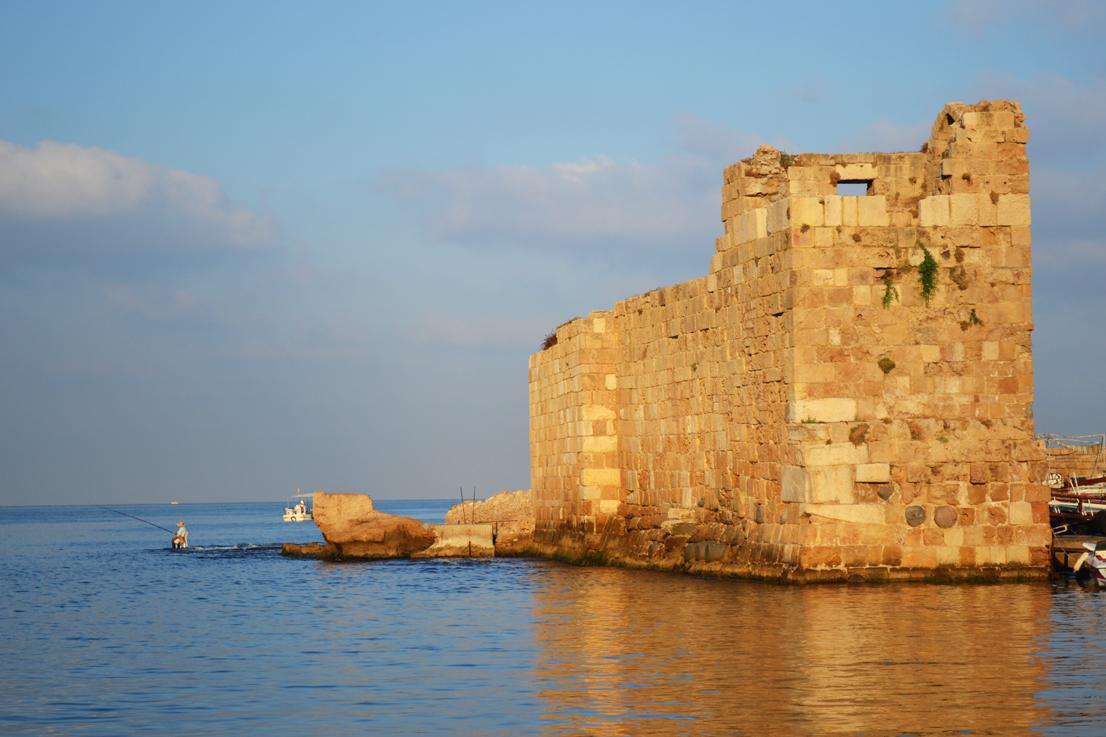 Sunrise in Bybos 2 - Lebanon
