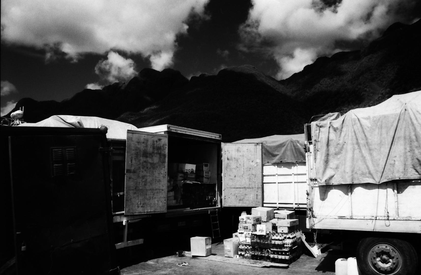 En el barco rumbo a Chiloe, Chile