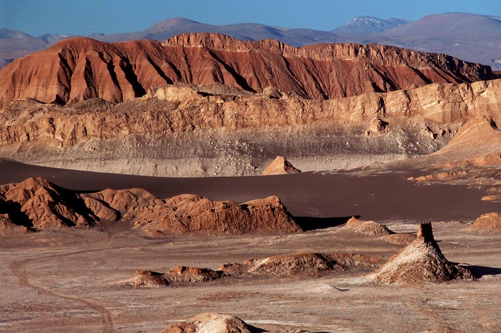 Valle de la Luna AtacamaDesert-Chile