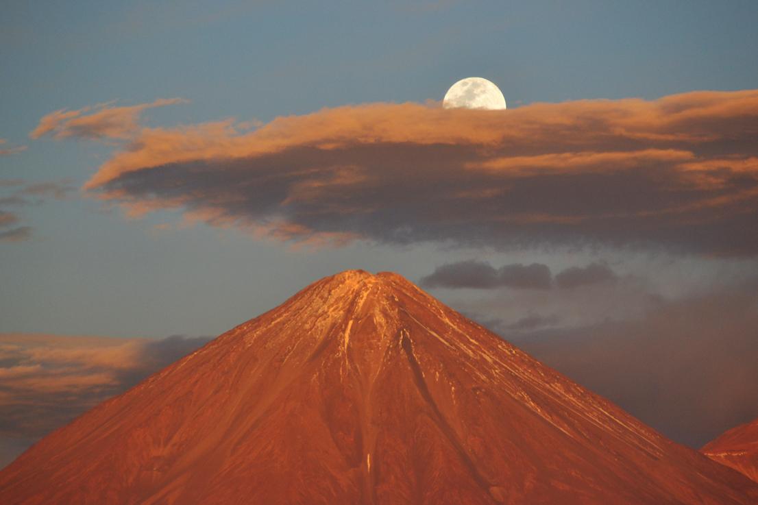 Volcán Licancabur, Atacama, Chile