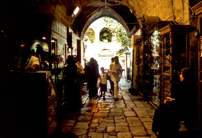 View of the Jewellers' Souk in Tripoli North Lebanon