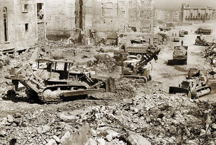 Martyr Square 1996  - Tractors.jpg