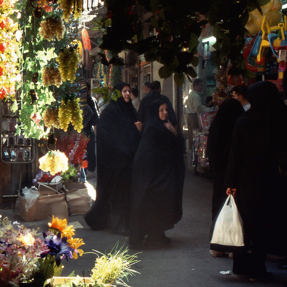 Colourful Market in Damascus