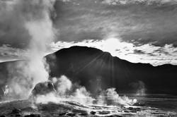 El Tatio geysers, Atacama, Chile