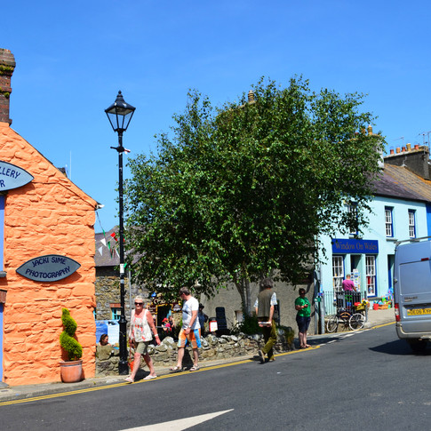 St David's village, Wales