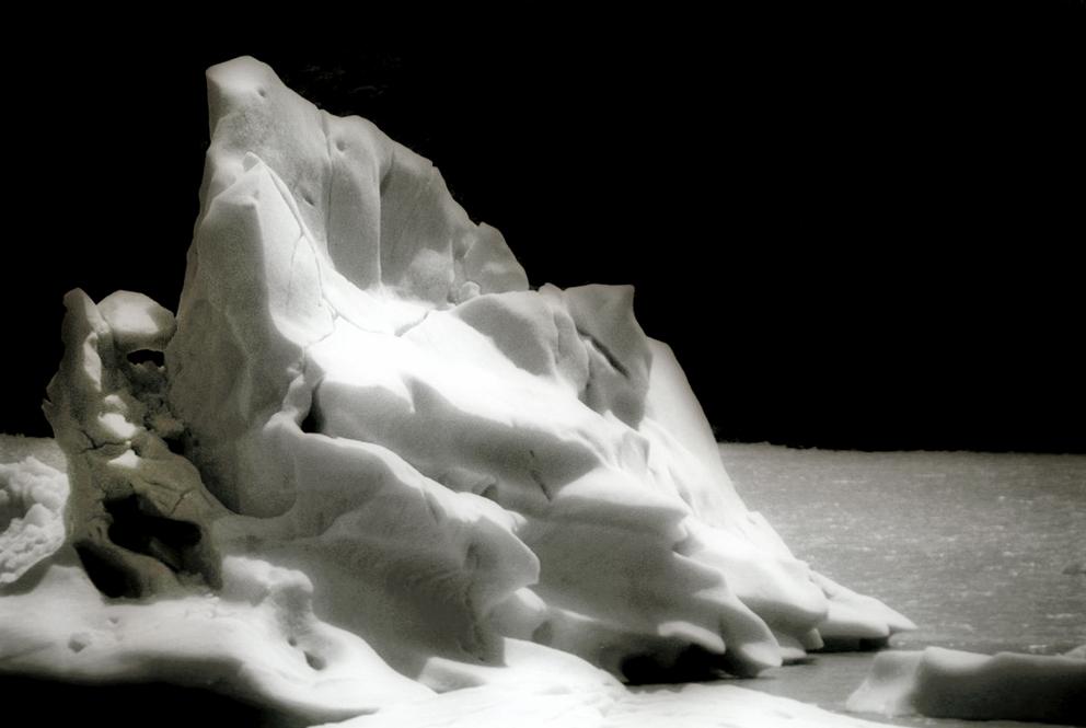 Iceberg on Lago Grey  - Torres Del Paine