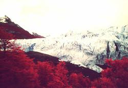 Perito Moreno glacier - Infra red