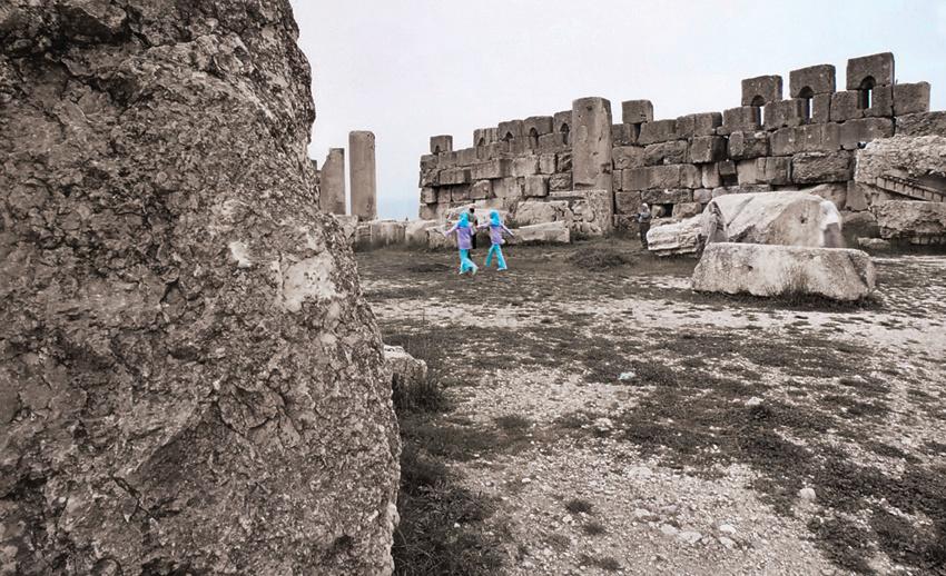 The ruins of Baalbeck, Lebanon