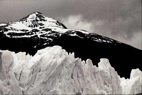 """""""Perito Moreno Glacier and mountain"""" print"""