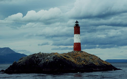 Les Eclaireurs lighthouse, Tierra del Fuego, Patagonia, Argentina