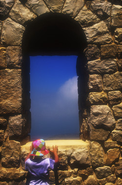Child and window