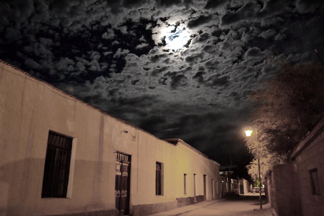 San Pedro de Atacama by night, Chile