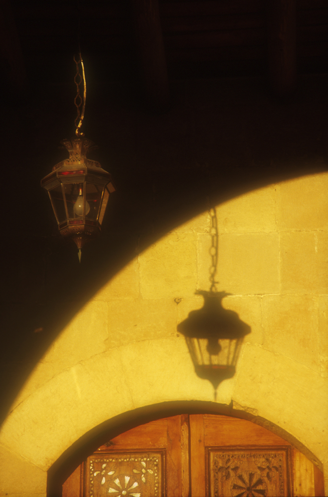 Lamp and shadow - Beit el Din